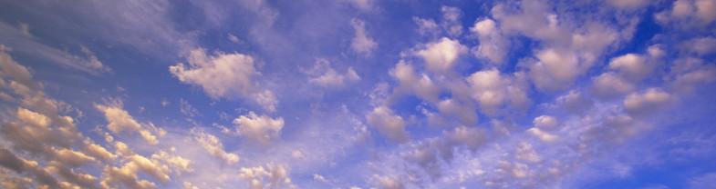 cielo, nuvole, alba